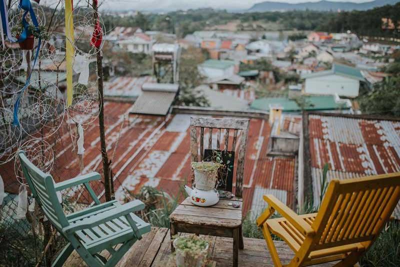 TOP 10 Quán Cafe Ở Đà Lạt View Đẹp, Lãng Mạng 2019 47