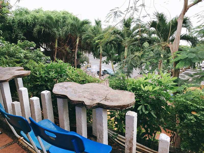 quán cafeÔ Cấp 1 ven biển Vũng Tàu