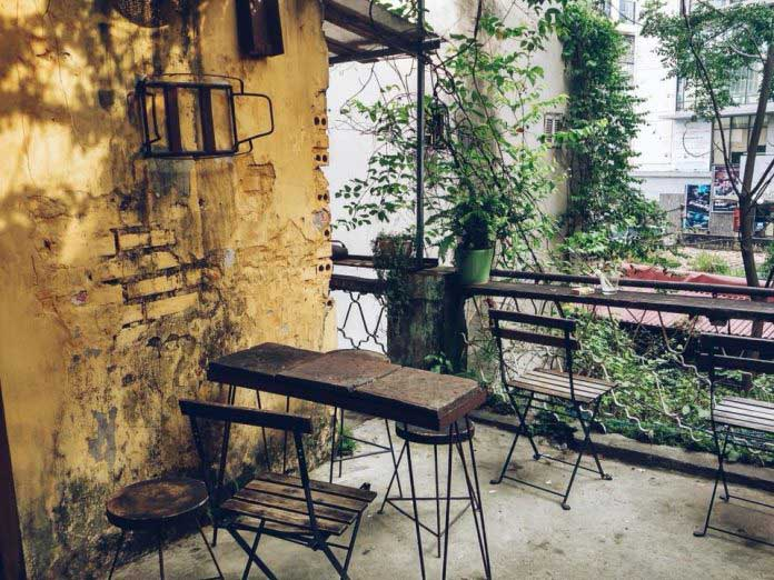 cafe vintage hà nội