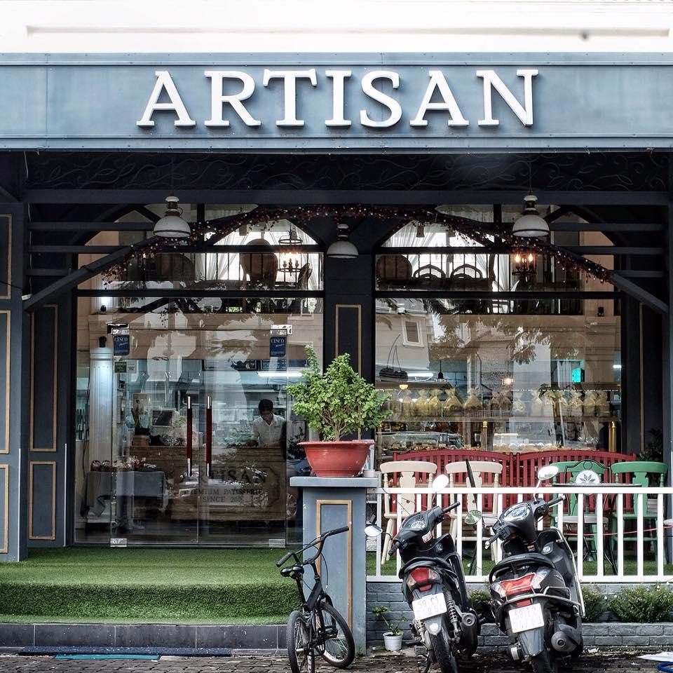 Quán cafe quận 7 Artisan Bakery & Coffee - Hà Huy Tập