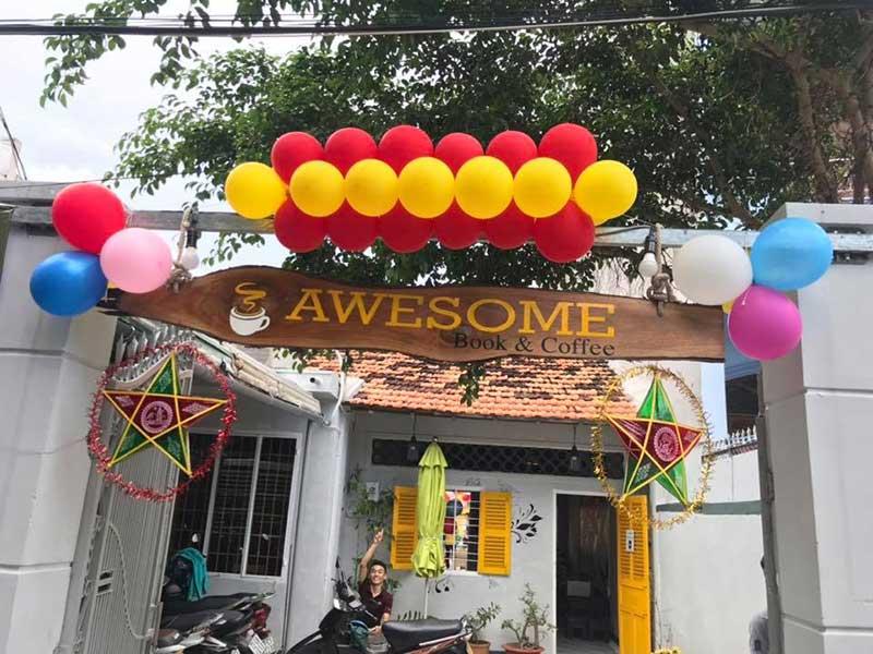 Quán cafe yên tĩnh quận 7 Awesome Coffee