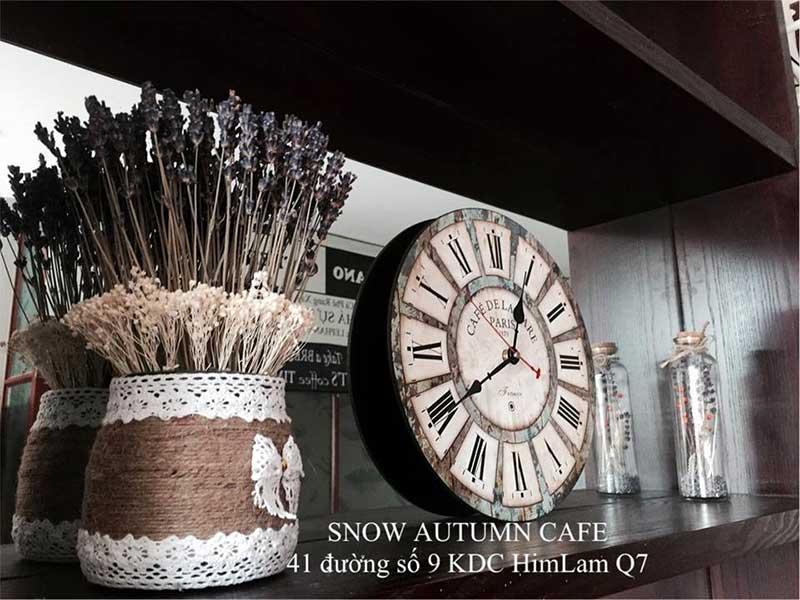 Snow Autumn Cafe - quán cafe cho cặp đôi hẹn hò quận 7