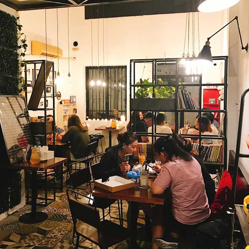 Quán cafe WE's Corner Coffee Quận 1
