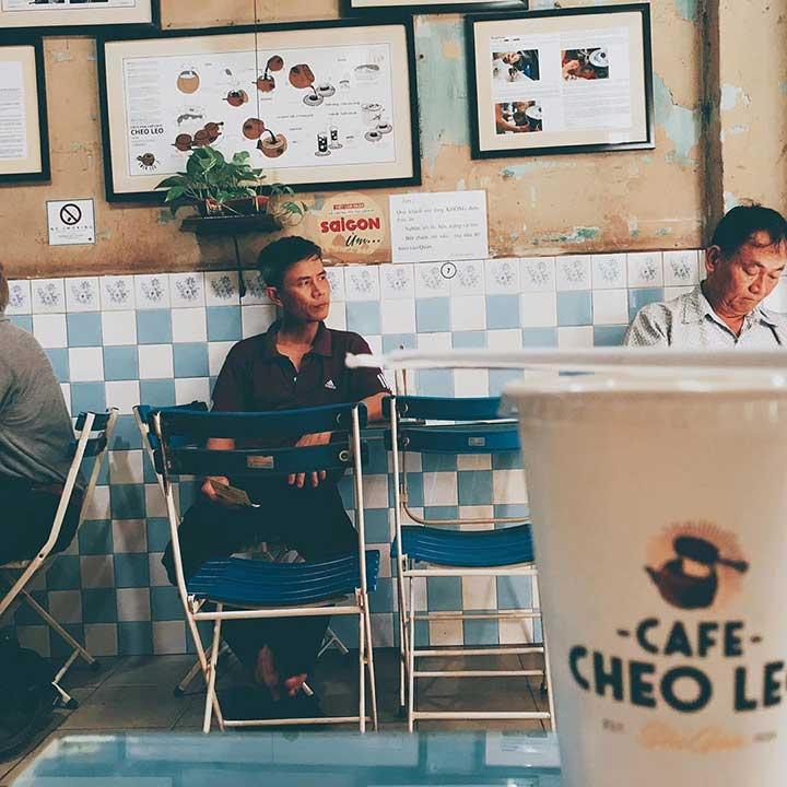 Quán Cheo Leo Cafe Quận 3