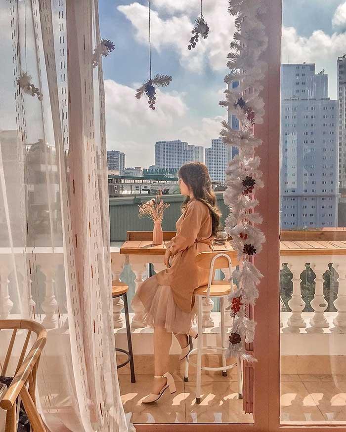 EM Rooftop coffee Cầu Giấy Hà Nội