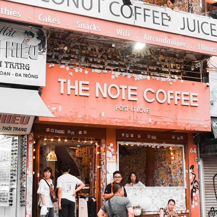 The Note Coffee - Lương Văn CanHà Nội