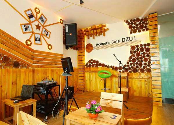 DZU Cafe - Quán Coffee Acoustic Gò Vấp