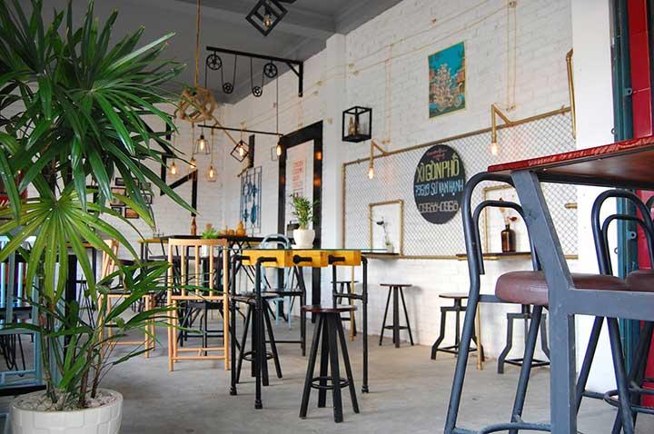 Quán CafeAcousticXì Gòn Phố Quận 10