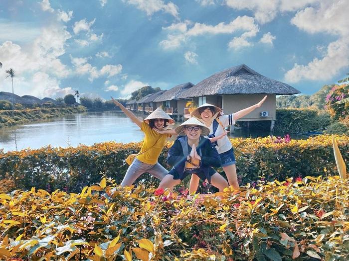 Mekong riverside homestay resort can tho