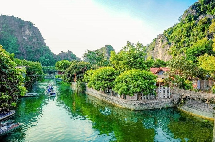 Tam Coc River View homestay