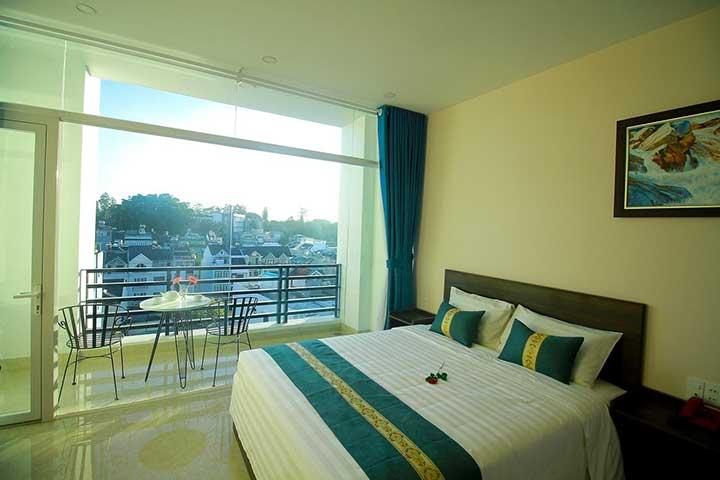 khách sạn 2 ở Đà Lạt sao view đẹp sống ảo chất