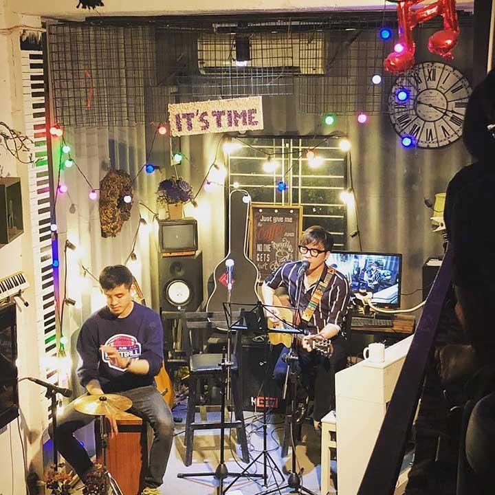 quán café nhạc Acoustic ở Bình Thạnh