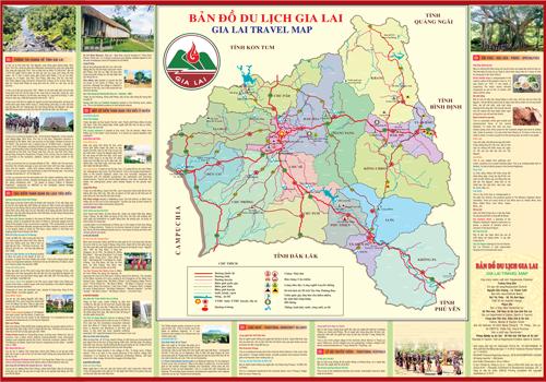 Bản đồ du lịch Gia lai