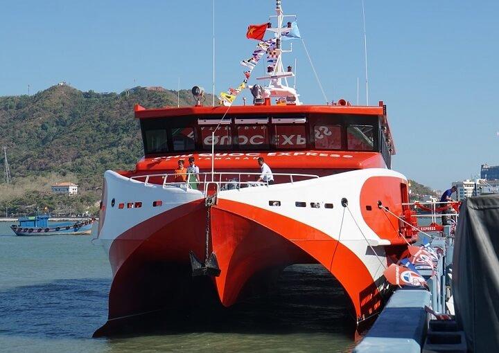 Tàu cao tốc siêu hiện đại Express 5 sao