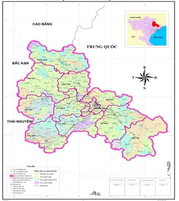 bản đồ du lịch lạng sơn