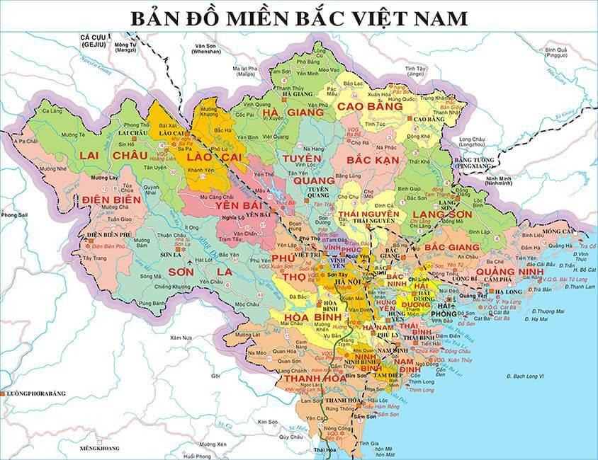 bản đồ du lịch tỉnh hà tây