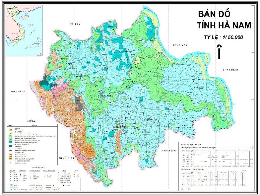 Bản đồ du lịch và hành chính tỉnh Hà Nam online nhiều người xem nhất 1