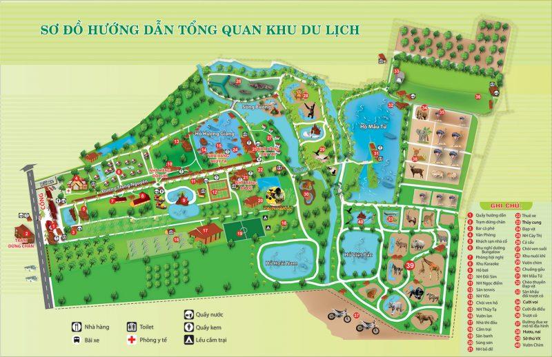 bản đồ khu du lịch vườn xoài e1563272022518