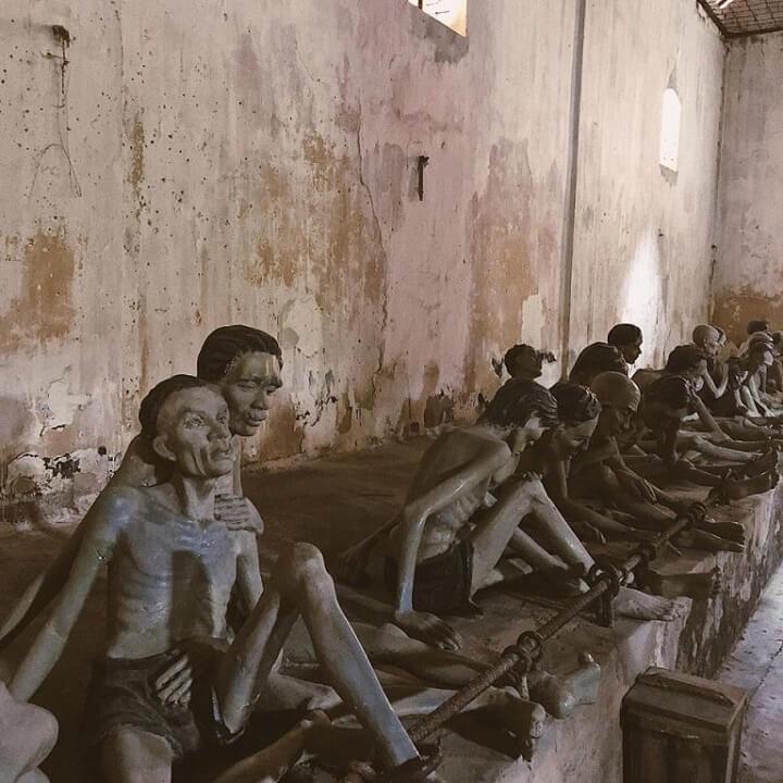 Phòng giam của nhà tù Côn Đảo, sự rợn người đến đau thương