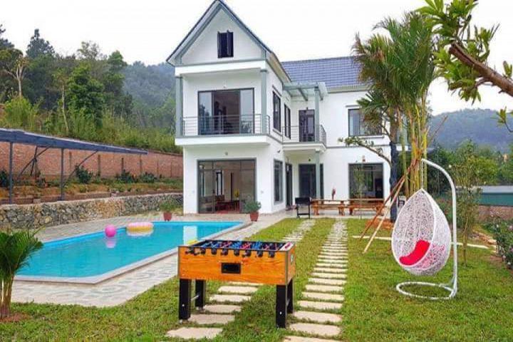 Top 10 biệt thự villa nghỉ dưỡng cho thuê ở Sóc Sơn nguyên căn view đẹp 2019 37