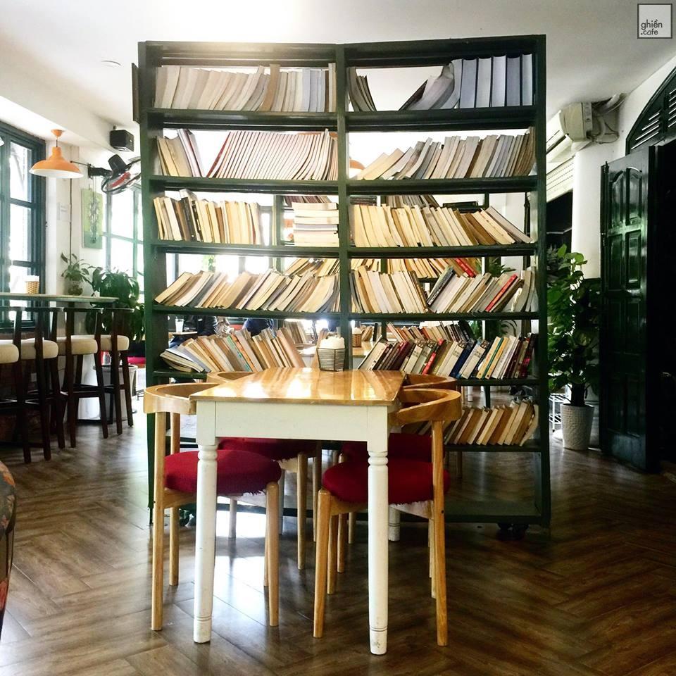Top 10 quán cafe đọc sách ở Hà Nội không gian yên tĩnh, view đẹp 2019 25