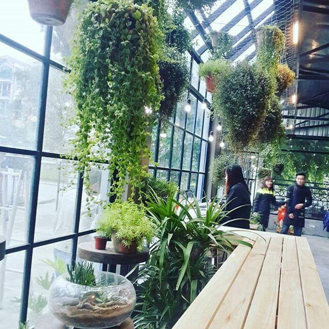 Top 10 quán cà phê ngoài trời đẹp ở Hà Nội 2019 35