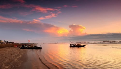 Bãi biển Đồng Châu..