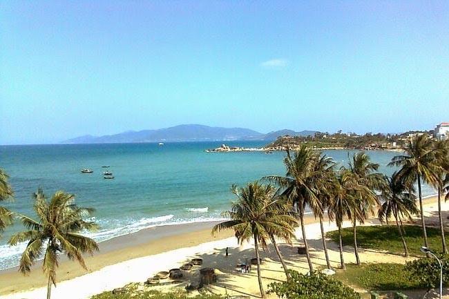 Bãi biển Sầm Sơn.