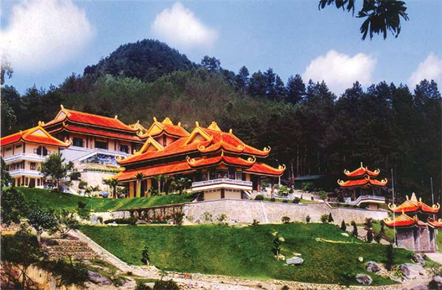 Thiền viện Trúc Lâm Tây Thiên.