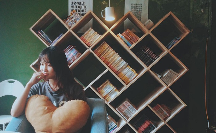bookn coffee truong chinh