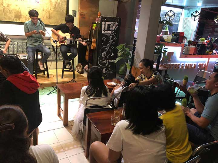 IT COFFEE - Cafe acoustic quận tân bình