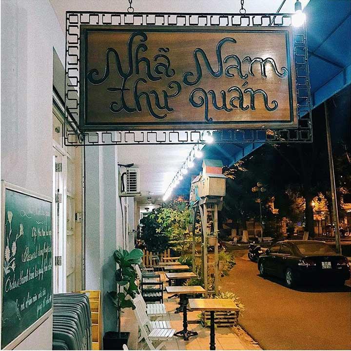 Nhã Nam Thư Quán -Cafe Sách Phú Nhuận Sài Gòn
