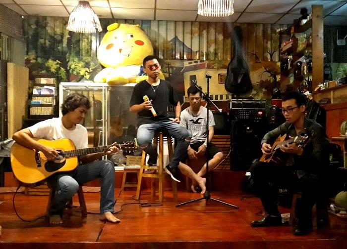 quán cafe acoustic ở bình dương