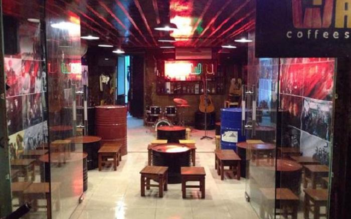 quán cafe nhạc Acoustic ở Tân Phú Sài Gòn11