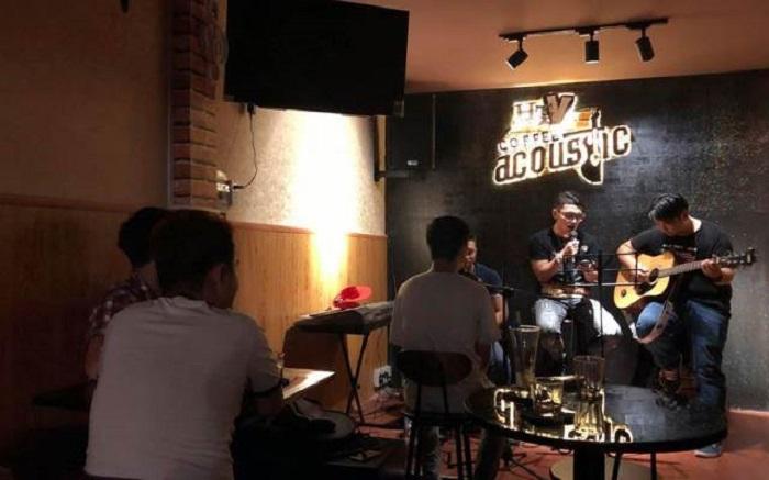 quán cafe nhạc Acoustic ở Tân Phú Sài Gòn12