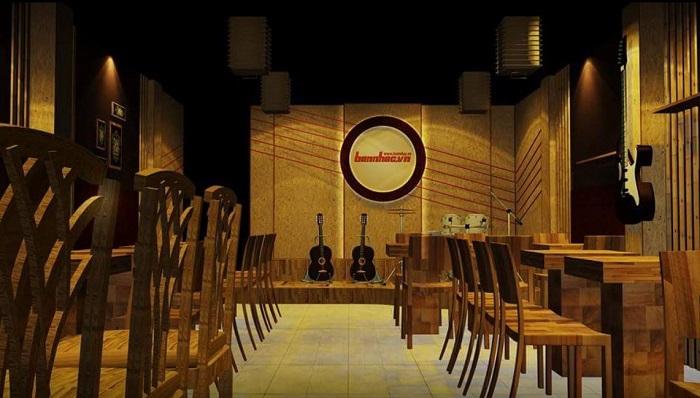 quán cafe nhạc Acoustic ở Tân Phú Sài Gòn3