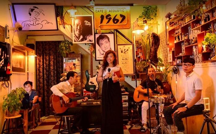 quán cafe nhạc Acoustic ở Tân Phú Sài Gòn9