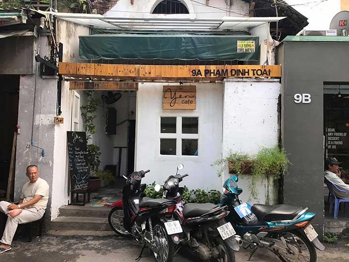 Quán cafe acoustic quận 3 Yên Cafe