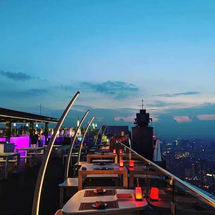 Top of Hanoi Bar -Rooftop View Đẹp Hà Nội