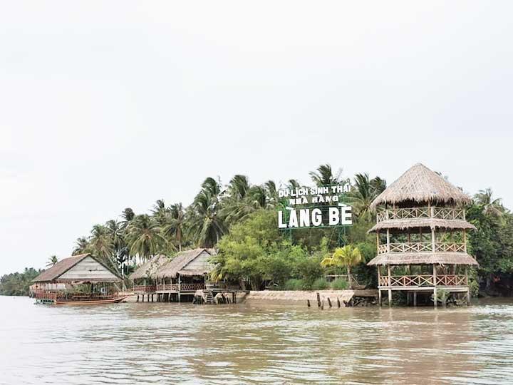 du lịch sinh thái Làng Bè