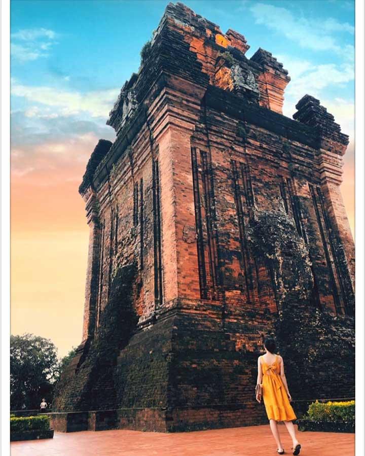 Tháp Nhạn Tuy Hòa Phú Yên