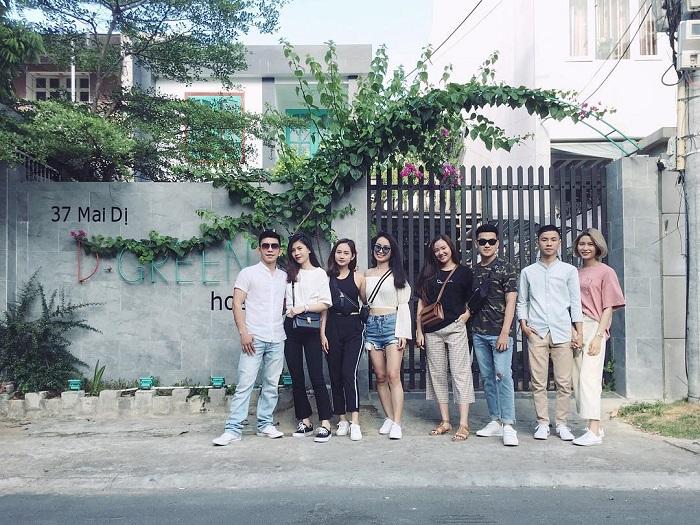D Green Hostel Homestay.