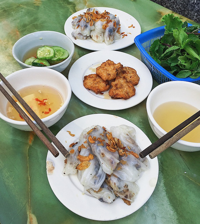 banh cuon cha muc ha long